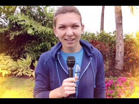 Simona Halep, Wimbledon Semi-Finalist, Wants to Play Tennis With a Famous Scottish Hunk