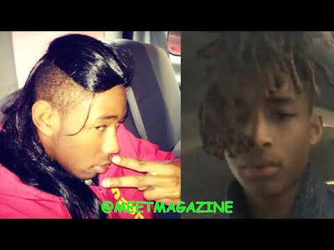 Jaden Smith is dating Tyler The Creator Gay rappers are boyfriends Came out the closet
