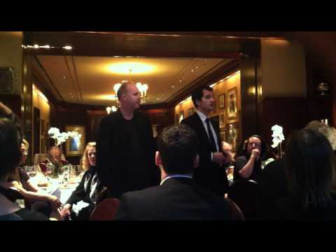 """Harry Potter"" Producers David Heyman and David Yates Speak at Luncheon"