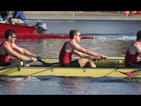 Harvard Men's Heavyweight Rowing vs. Penn. and Navy - Varsity 8
