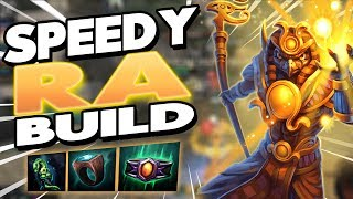 Smite: SPEEDY RA BUILD - HAVE YOU EVER ENCOUNTERED A SPEED CHICKEN BEFORE?