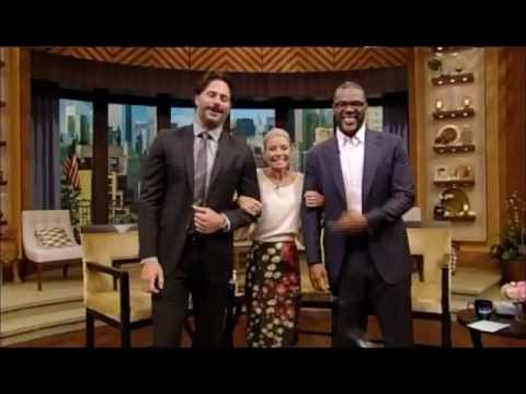 Joe Manganiello Live with Kelly 6-26-2012