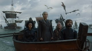 Daenerys arrives at Dragonstone
