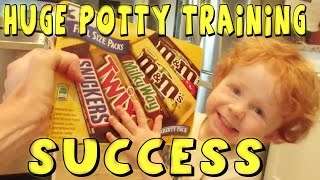 HUGE  POTTY TRAINING SUCCESS