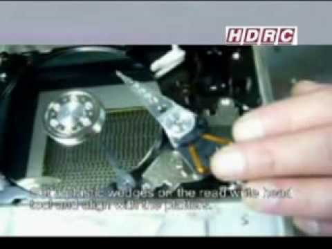 Western Digital HDD Head Allignment