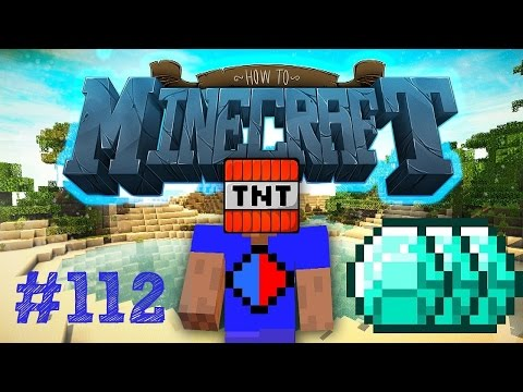 Minecraft SMP HOW TO MINECRAFT #112 BLAST MINING CHALLENGE with Vikkstar