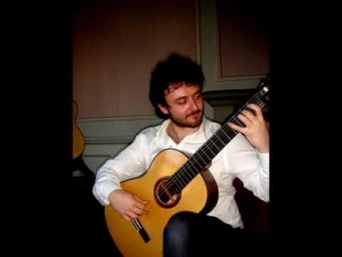 Antonio Mascolo-Classical Guitar improvisation (arabic style)