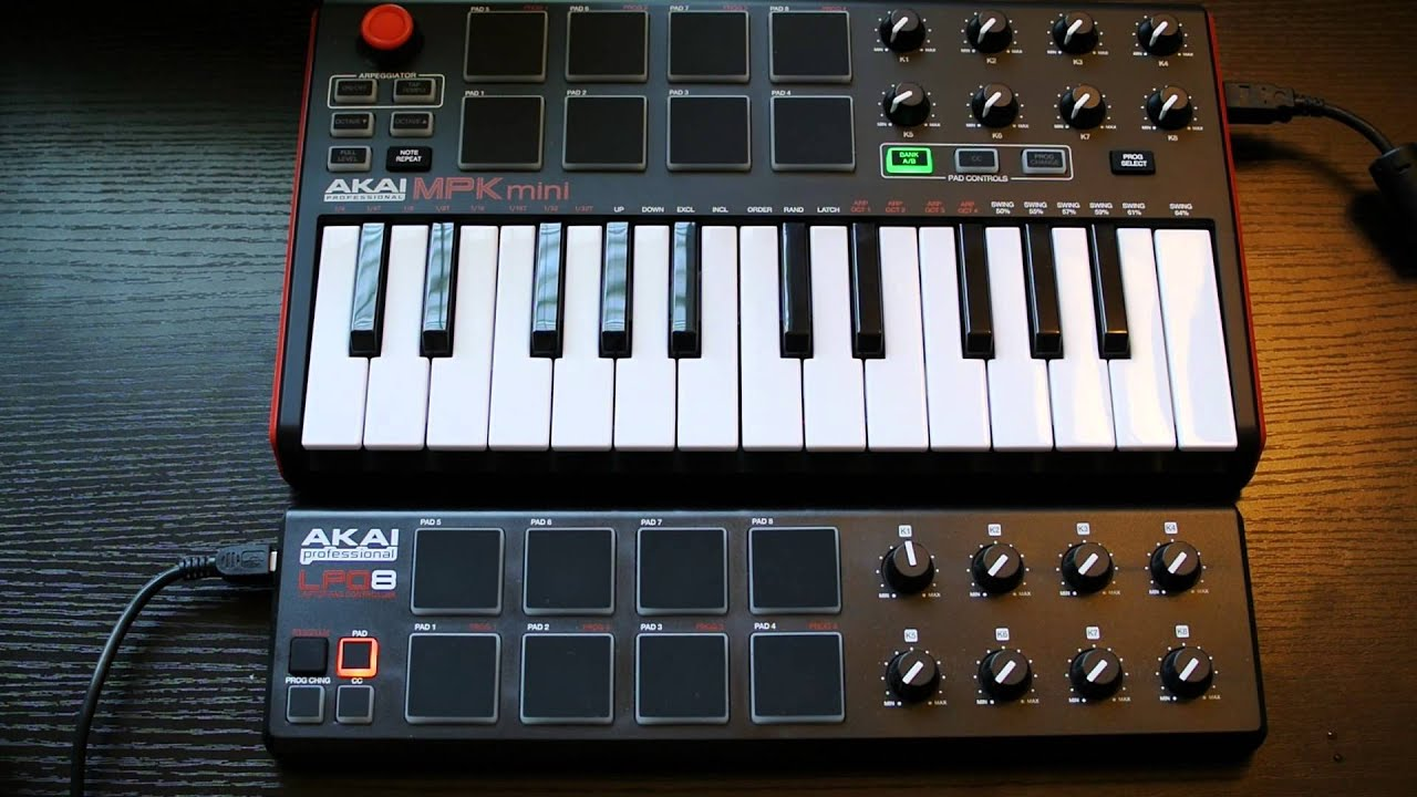akai mpk mini mk ii review pad comparision to lpd youtube. Black Bedroom Furniture Sets. Home Design Ideas