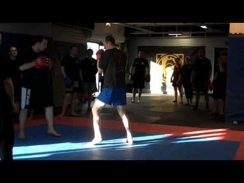 Default Jun Fan kickboxing padwork Image 1