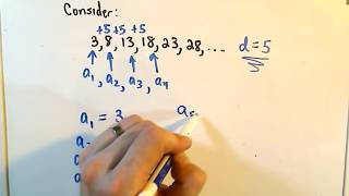 Arithmetic Sequences: A Formula for the ' n - th ' Term