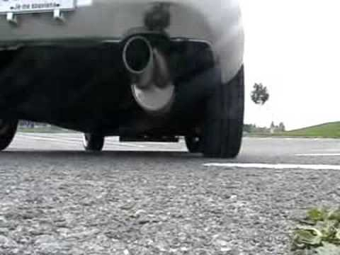 Twin Loop Muffler On Acura Integra 1994 H22a (perfect sound)