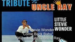 Watch Stevie Wonder Come Back Baby video
