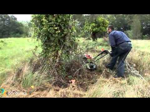 Como cortar pasto con desbrozadora