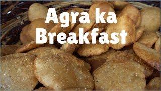 5 good Breakfast places in Agra   India:  Bedhai puri, kachori & Jalebi