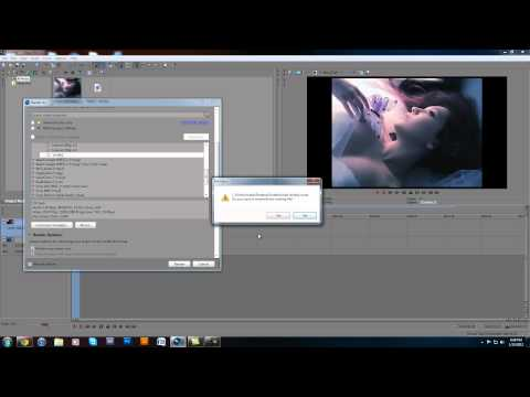 Sony Vegas 11 MP4 Rendering Problem Solution!!