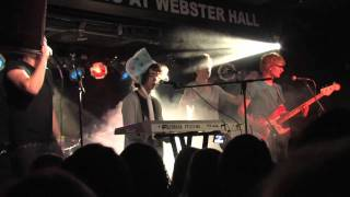 Nat & Alex Wolff - Colorful Raindrops [LIVE] - Webster Hall