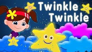 lele lie star nursery rhymes & children songs with lyrics I kids song channel