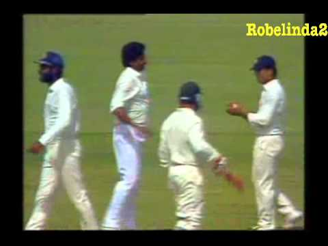 *INDIAN LEGEND* KAPIL DEV 400th TEST WICKET - PERTH 1992 vs AUSTRALIA