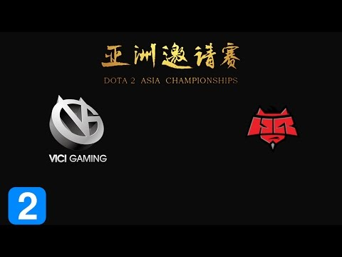Vici gaming vs hellraisers game 2 dota 2 asia chionship 2015