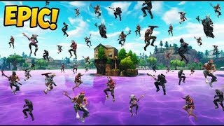 PARTY AT THE LAKE!!! Fortnite Epic Wins and Funny WTF Moments #29