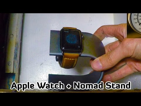 Hydraulic Press | Apple Watch + Nomad Stand | Multiple Presses = Artwork