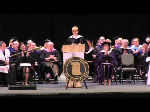 Lori Allen Keynote Highlights from 2013 commencement