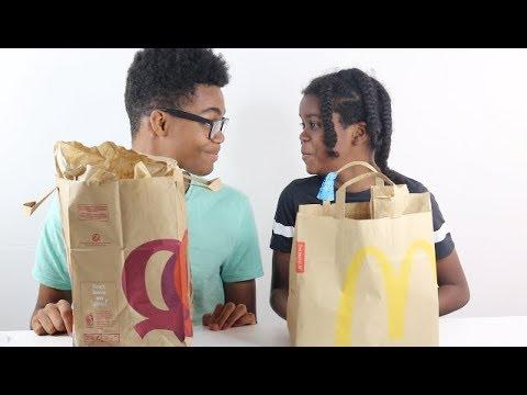 MENUS MCDO VS QUICK : QUI EST LE MOINS CHER ? #sakinafamily