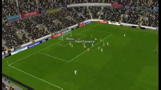 Football Manager 2016 goal Leeds VS. Fulham