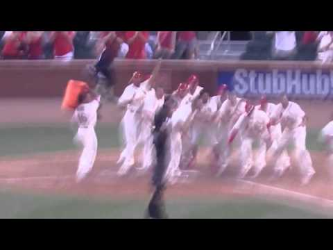 St Louis Cardinals Matt Carpenter game winning home run - May 7, 2016