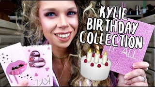 Kylie Cosmetics 20 Birthday Collection- In-Depth Review & Swatches! Entire Collection!