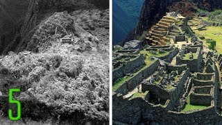 5 Unbelievable Before & After Photos of Ancient Wonders