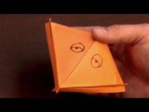 Big Mouth Origami Tutorial