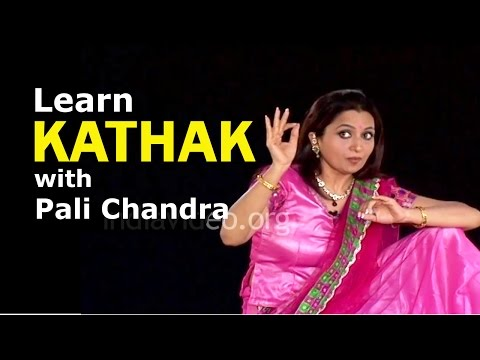 Learn Kathak with Pali Chandra, English 020 & Hindi 018, Thumari