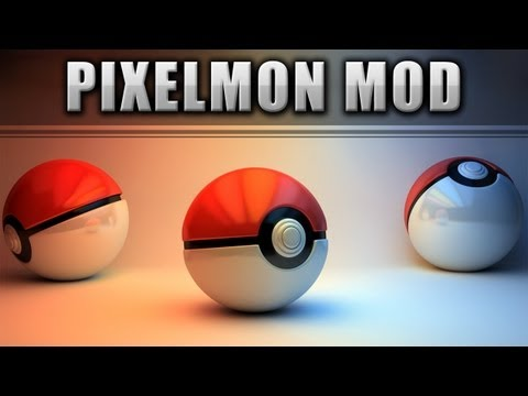 ★ Minecraft Mods 1.6.2 POKEMON IN MINECRAFT PIXELMON MOD 1.5.2 1.5.x 1.4.7 German