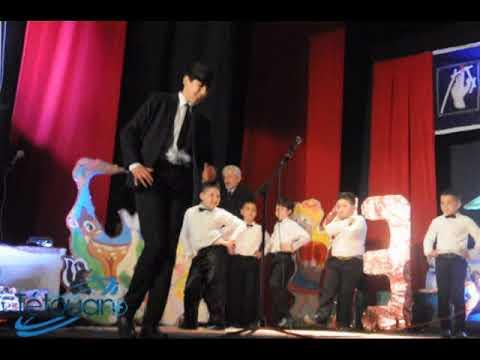 رقصة صينية من أداء تلاميذ مدرسة أحمد الزواق في اللمة