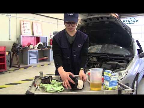 Peugeot 206 hdi - Changement du filtre à gasoil