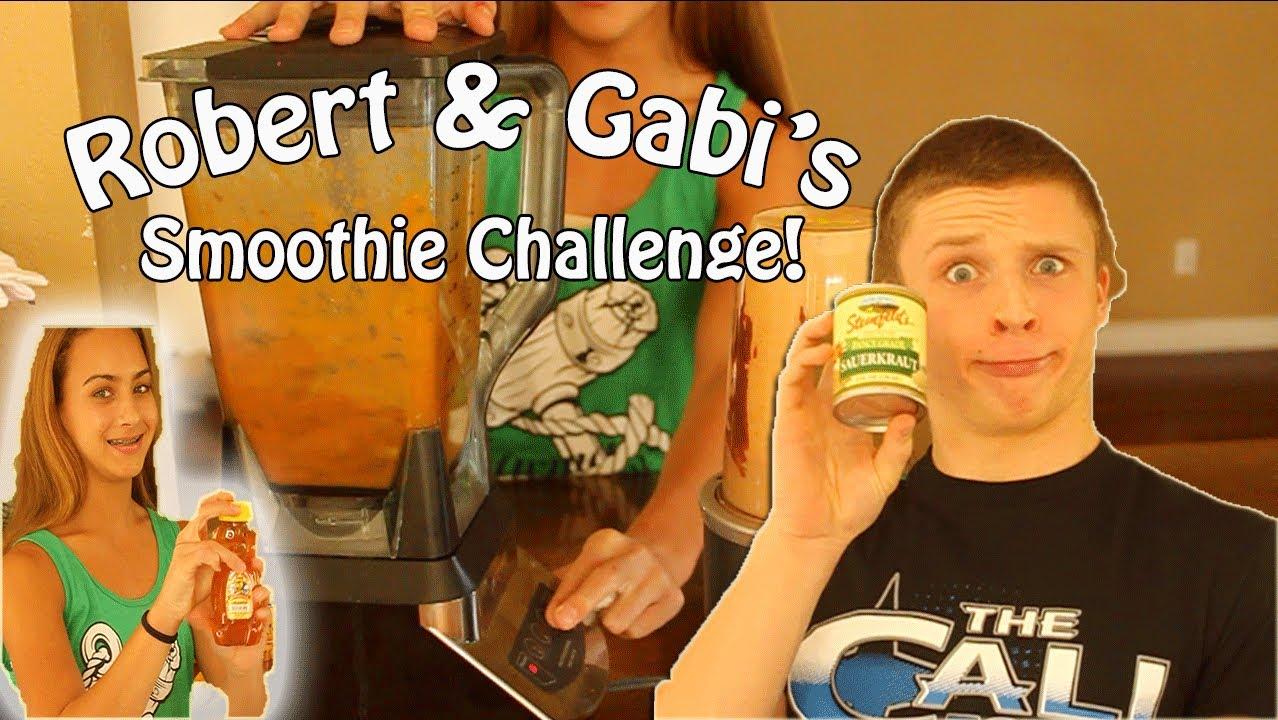 Robert and Gabi Smoothie