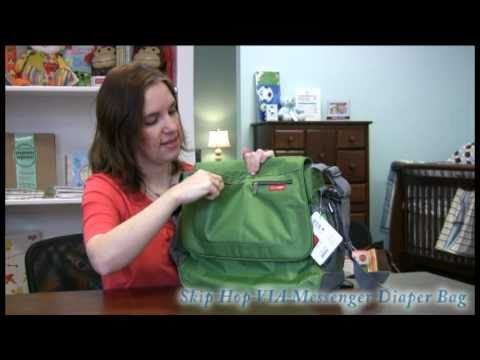 Smartmomma.com reviews the Skip Hop Via Messenger Diaper Bag