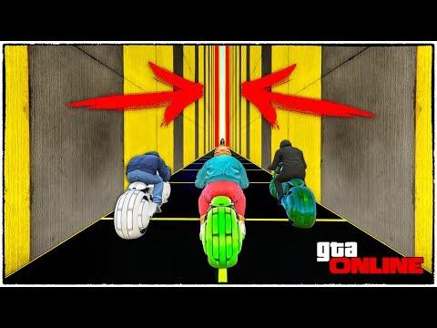 ДАВИ НА ПЕДАЛЬ, ПРОЛЕЗТЬ В ЩЕЛЬ СМОЖЕТ ТОЛЬКО ОДИН! GTA 5 ONLINE (ГТА 5 ГОНКИ)