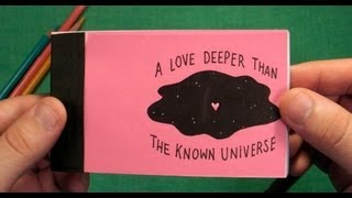 A Love Deeper Than the Known Universe (A custom cartoon flipbook)