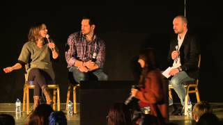 Laura Bailey and Travis Willingham Interview - MCM London Comic Con Oct '14