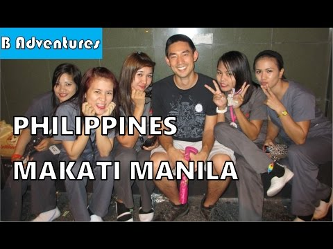 Travel Philippines, S1, Ep 2/26: Chilling in Makati Manila, Restaurants & Locals, Shooting Range