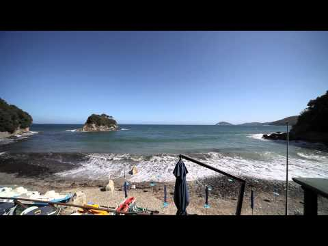 Relaxation nature sound Italy rough sea