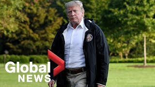 LIVE: President Trump and First Lady tour devastation of Hurricane Michael