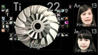 Thumb Canción para aprender los elementos de la Tabla Periódica en Japonés