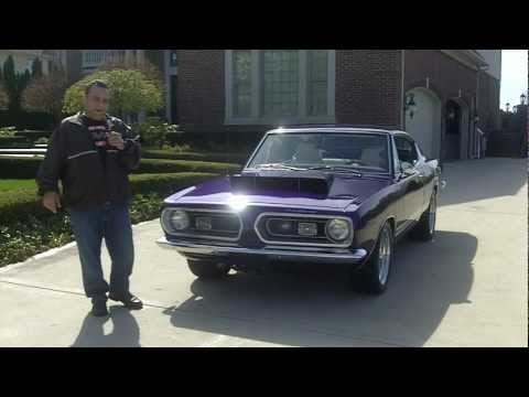1968 Plymouth Barracuda Classic Muscle Car for Sale in MI Vanguard Motor Sales klip izle