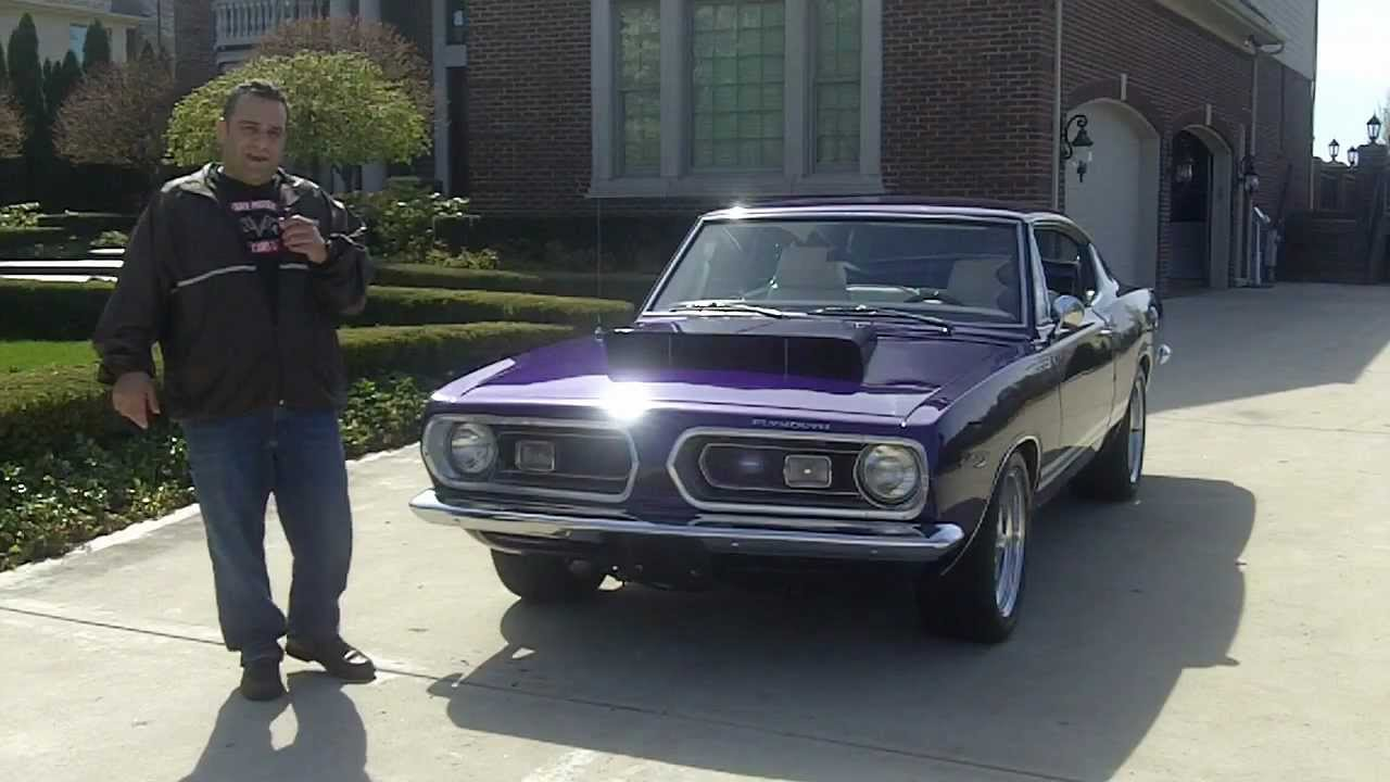 1968 Plymouth Barracuda Classic Muscle Car For Sale In Mi