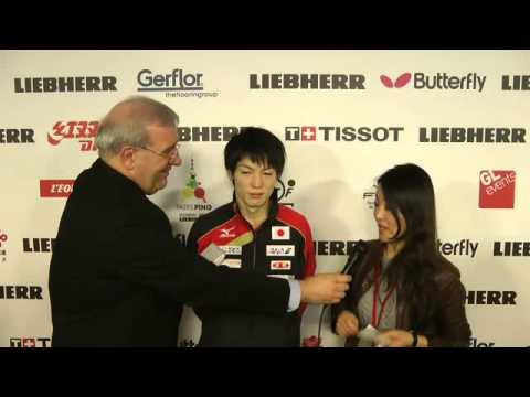 Kenta Matsudaira at the LIEBHERR World Championships - Paris 2013