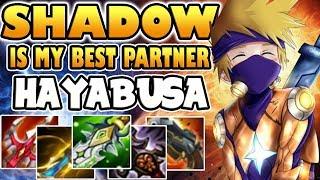 SHADOW IS MY BEST PARTNER [by SoloQ jmp Nurul [Fredo] HAYABUSA BUILD & GAMEPLAY MOBILE LEGENDS