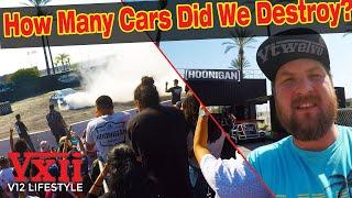 Hoonigan Burnyard & Corsa Rally Update | V12 Lifestyle